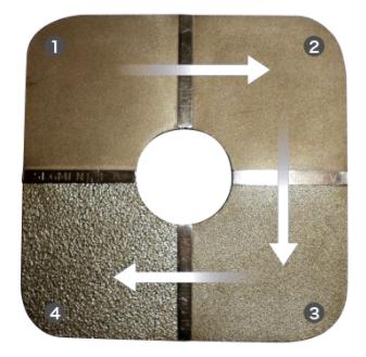 表面粗さ測定で使用する『比較板』